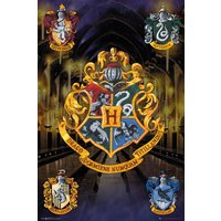 Harry Potter Crests Maxi Poster - Harry Potter Gifts