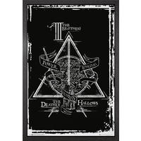 Harry Potter Deathly Hallows Graphic Framed Maxi Poster - Harry Potter Gifts