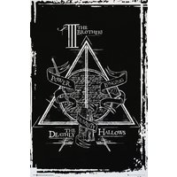 Harry Potter Deathly Hallows Graphic Maxi Poster - Harry Potter Gifts