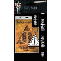 Harry Potter Deathly Hallows Lanyard - Harry Potter Gifts
