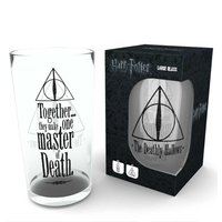 Harry Potter Deathly Hallows Pint Glass - Harry Potter Gifts