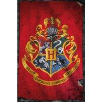 Harry Potter Hogwarts Flag Maxi Poster - Harry Potter Gifts