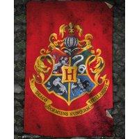 Harry Potter Hogwarts Flag Mini Poster - Harry Potter Gifts