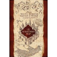 Harry Potter Marauders map Maxi Poster - Harry Potter Gifts
