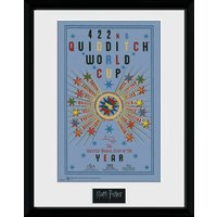 Harry Potter Quiditch World Cup 2 Collector Print - World Cup Gifts