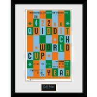 Harry Potter Quiditch World Cup Collector Print - World Cup Gifts
