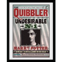 Harry Potter The Quibbler Framed Collector Print - Harry Potter Gifts