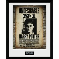 Harry Potter Undesirable No 1 Framed Collector Print - Harry Potter Gifts