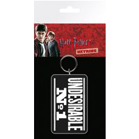 Harry Potter Undesirable No 1 Keyring - Harry Potter Gifts