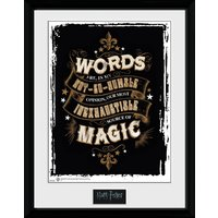 Harry Potter Words Collector Print