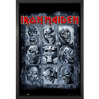 Iron Maiden Eddies Framed Maxi Poster - Iron Maiden Gifts