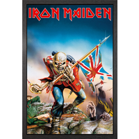 Iron Maiden Trooper Framed Maxi Poster - Iron Maiden Gifts