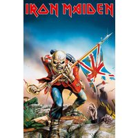 Iron Maiden Trooper Maxi Poster - Iron Maiden Gifts