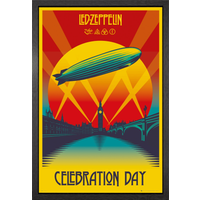 Led Zeppelin Celebration Day Framed Maxi Poster - Led Zeppelin Gifts