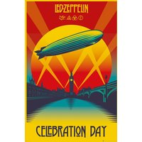 Led Zeppelin Celebration Day Maxi Poster - Led Zeppelin Gifts