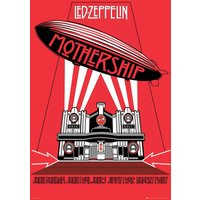 Led Zeppelin Mothership Maxi Poster - Led Zeppelin Gifts