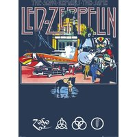 Led Zeppelin Remains Maxi Poster - Led Zeppelin Gifts