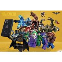 Lego Batman Best Selfie Ever Maxi Poster - Selfie Gifts