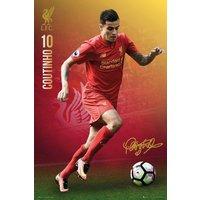 Liverpool Coutinho 16/17 Maxi Poster