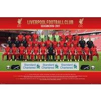 Liverpool Team Photo 16/17 Maxi Poster