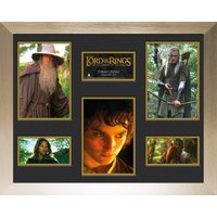 Lord Of The Rings Fellowship Frame Mounted Photo - Lord Of The Rings Gifts