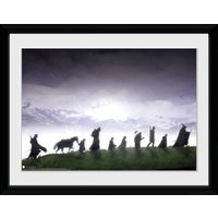 Lord of the Rings Fellowship Framed Collector Print - Lord Of The Rings Gifts