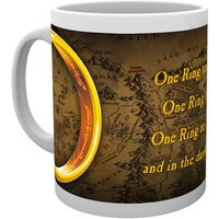 Lord of the Rings one Ring Mug - Lord Of The Rings Gifts