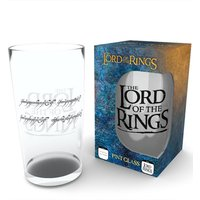 Lord of the Rings Ring Pint Glass - Lord Of The Rings Gifts