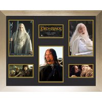 Lord Of The Rings Two Towers Frame Mounted Photo