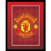 Manchester United Club Crest Framed Print Club Crest Framed Print