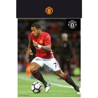 Manchester United Memphis 16/17 Bagged Photographic Print