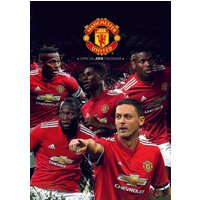 Manchester United Official Calendar 2018 - Manchester United Gifts