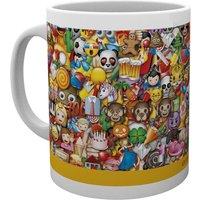 Emoji Collage Mug