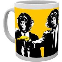 Monkey Monkeys Banana Mug - Monkeys Gifts