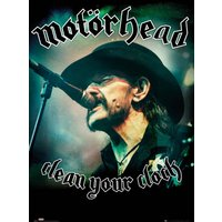 Motorhead Clean Your Clock Maxi Poster - Motorhead Gifts
