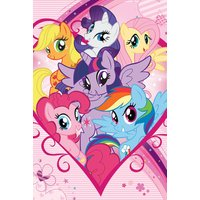 My Little Pony Group Maxi Poster - My Little Pony Gifts