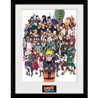 Naruto Shippuden Group Collector Print - Naruto Gifts
