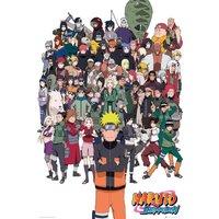 Naruto Shippuden Group Maxi Poster - Naruto Gifts