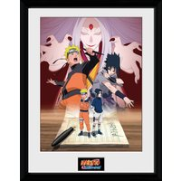 Naruto Shippuden Naruto and Sasuke Collector Print - Naruto Gifts