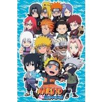Naruto Shippuden SD Compilation Maxi Poster - Naruto Gifts
