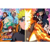 Naruto Shippuden Split Maxi Poster - Naruto Gifts