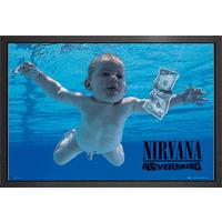 Nirvana Nevermind Framed Maxi Poster - Nirvana Gifts