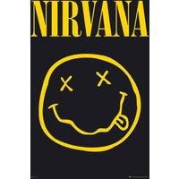 Nirvana Smiley Maxi Poster - Nirvana Gifts