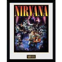 Nirvana Unplugged Collector Print - Nirvana Gifts