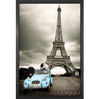 Paris Romance Framed Maxi Poster - Romance Gifts