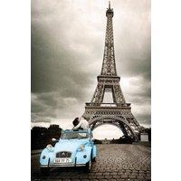 Paris Romance Maxi Poster - Romance Gifts