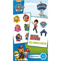 Paw Patrol Characters Tattoo Pack