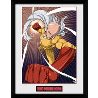 One Punch Man Speed Punch Collector Print
