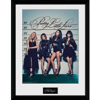 Pretty Little Liars Line Up Framed Collector Print - Pretty Little Liars Gifts