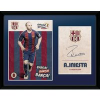 Barcelona Iniesta 16/17 Collector Print